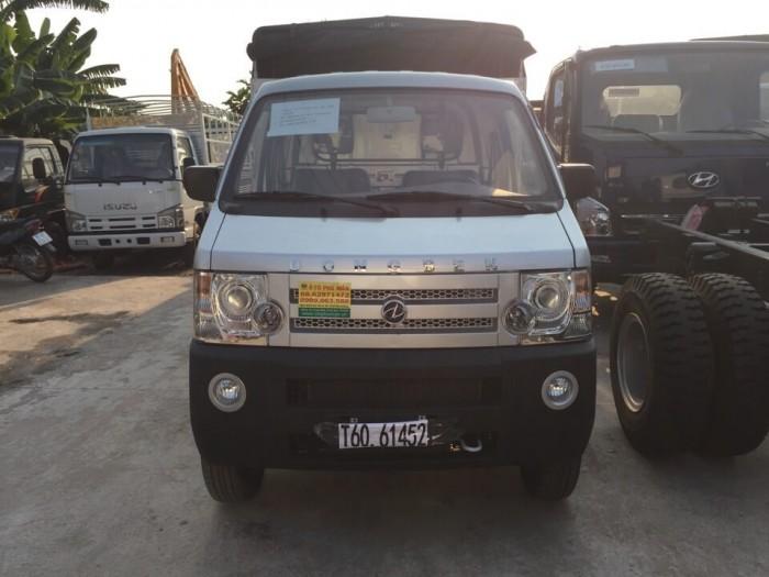 Ưu điểm khi mua chọn xe tải Dongben 810kg thùng mui bạt