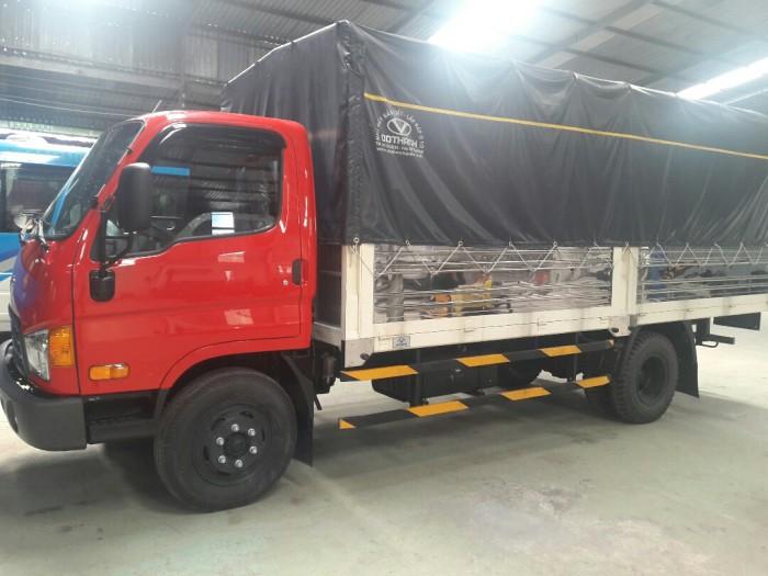 Giá xe tải HD99 thùng mui bạt