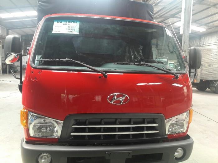Thùng mui bạt của Hyundai HD99 đảm bảo chất lượng ưu việt