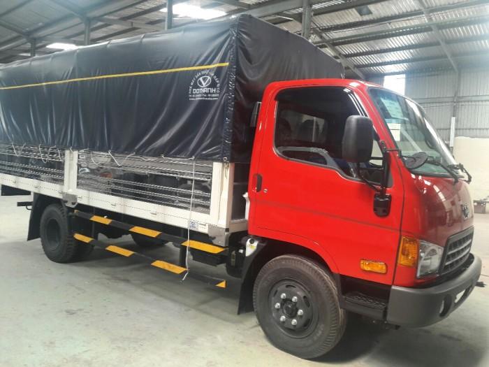 Những trang bị đáng giá xe tải HD99 thùng mui bạt