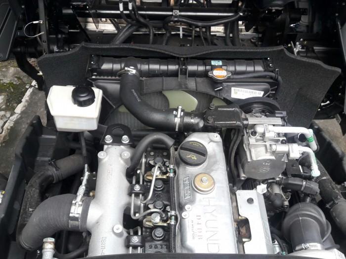 Chi tiết thông số xe HD99 thùng mui bạt: