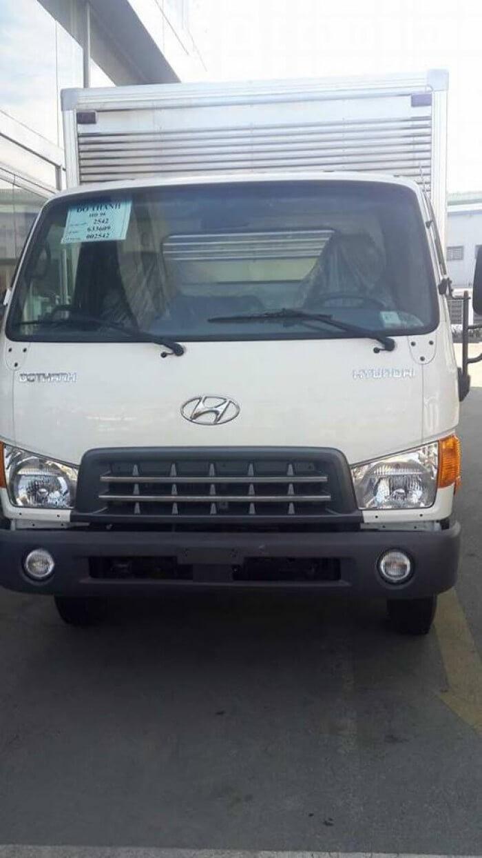 giá xe tải HD99 thùng kín bao nhiêu