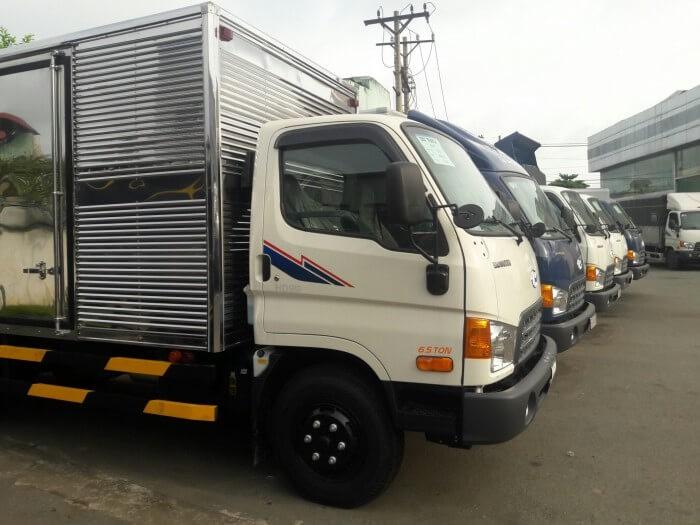 mua xe tải hd99 thùng kín