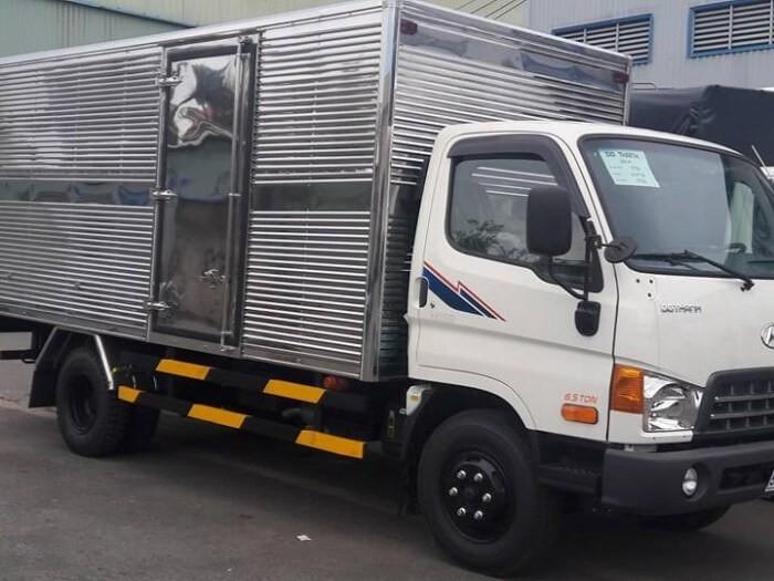 Các trang bị trên xe tải HD99 thùng kín