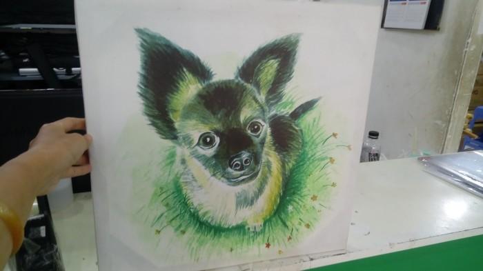 In tranh vải bố canvas với hình ảnh yêu thích theo yêu cầu