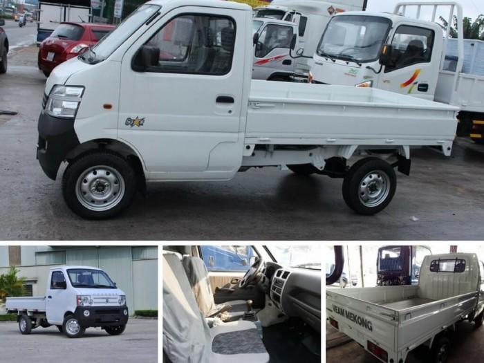 Kích thước thùng xe tải nhỏ Veam Star tải trọng 760kg