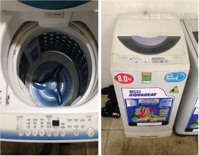 Mẹo mua máy giặt cũ bền đẹp như mới