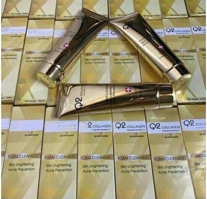 Công dụng tuyệt vời của gel Q2 Collagen - sữa rửa mặt cho da nhờn hiệu quả hiện nay