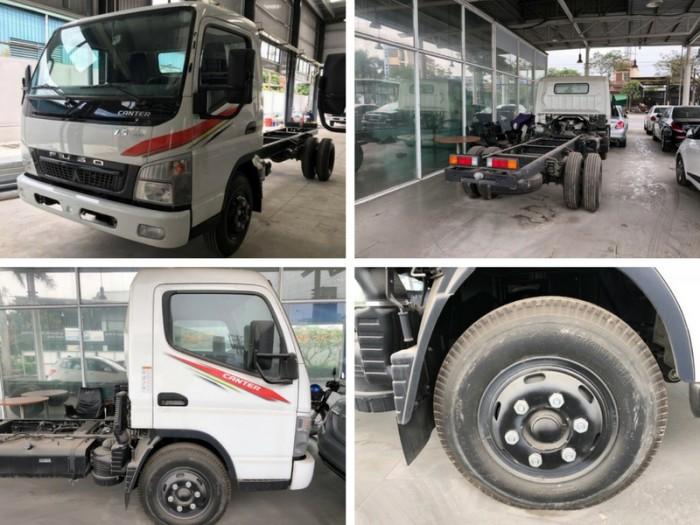 Đánh giá xe tải Mitsubishi Fuso Canter 7.5 tấn đời 2015