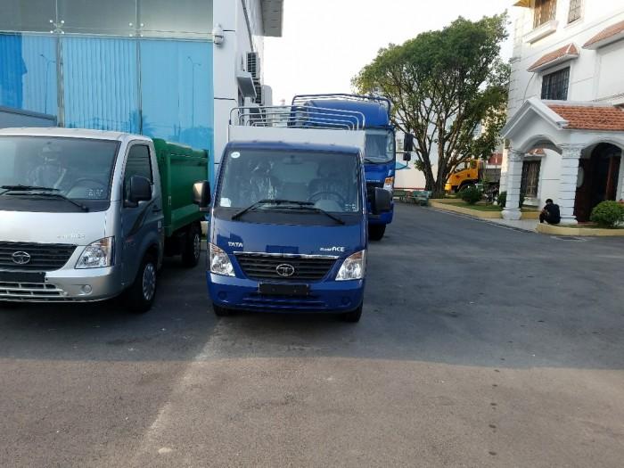 Đánh giá xe tải Tata 1t2 Super Ace thùng mui bạt
