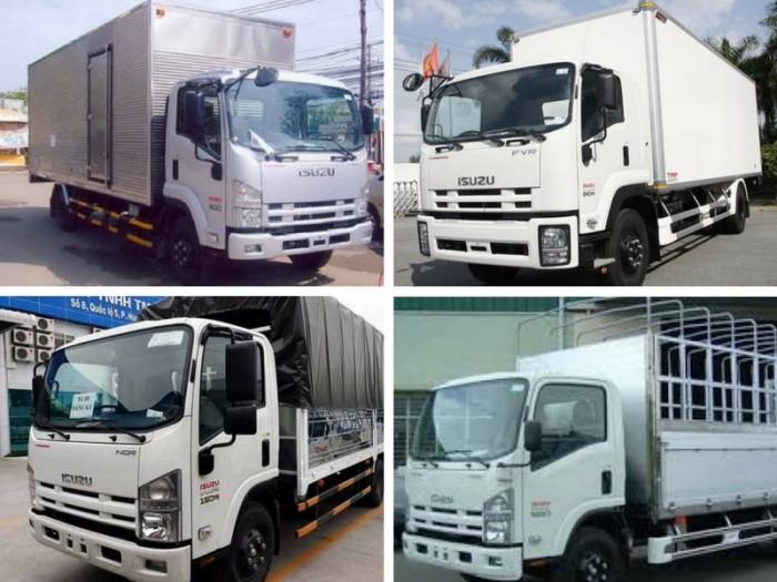 Giá xe tải Isuzu 9 tấn mới nhất