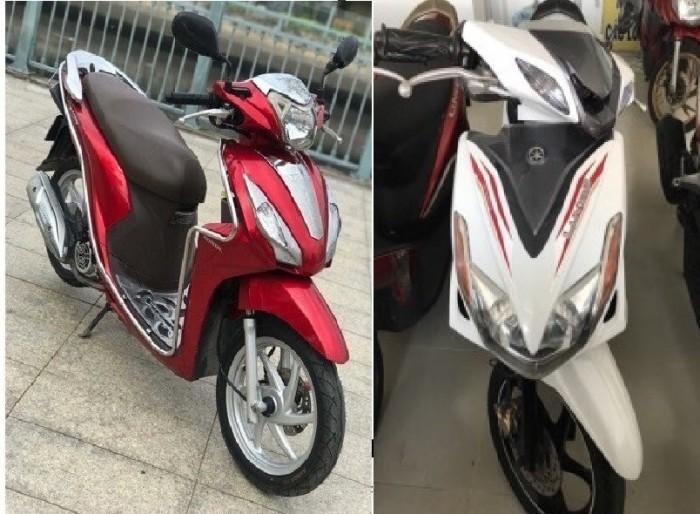 So sánh Yamaha Luvias và Honda Vision: nên mua xe máy cũ nào?