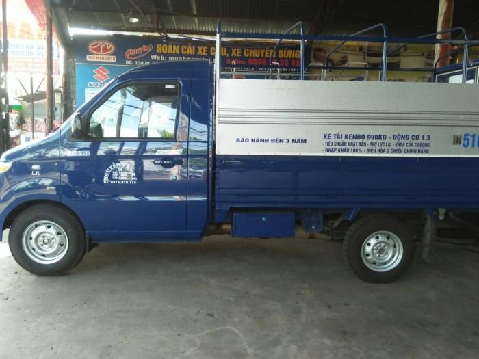 Tư vấn mua bán, báo giá xe tải Kenbo 990kg mới nhất