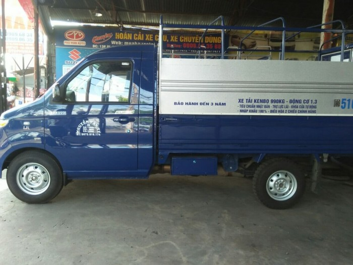 Đánh giá xe tải Kenbo 990kg thùng dài 2m7