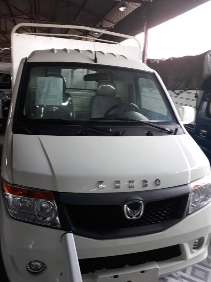 Đánh xe giá xe tải Kenbo 990kg về cabin