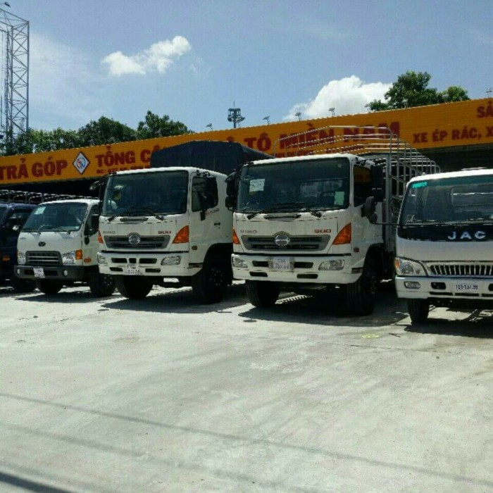 Bảng giá xe tải Hino mới nhất tại TPHCM