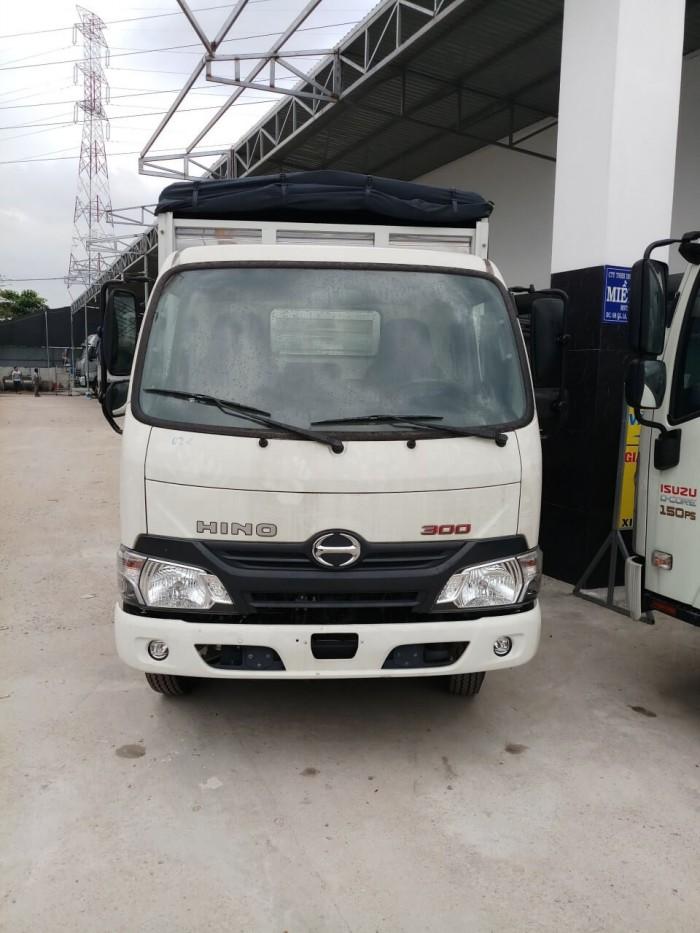Giá xe tải Hino 1.9 tấn tại TPHCM liên quan đến kích thước thùng hàng