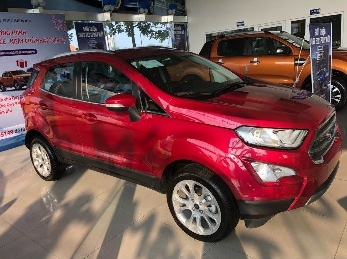 Ford Ecosport 2018 giá bao nhiêu?