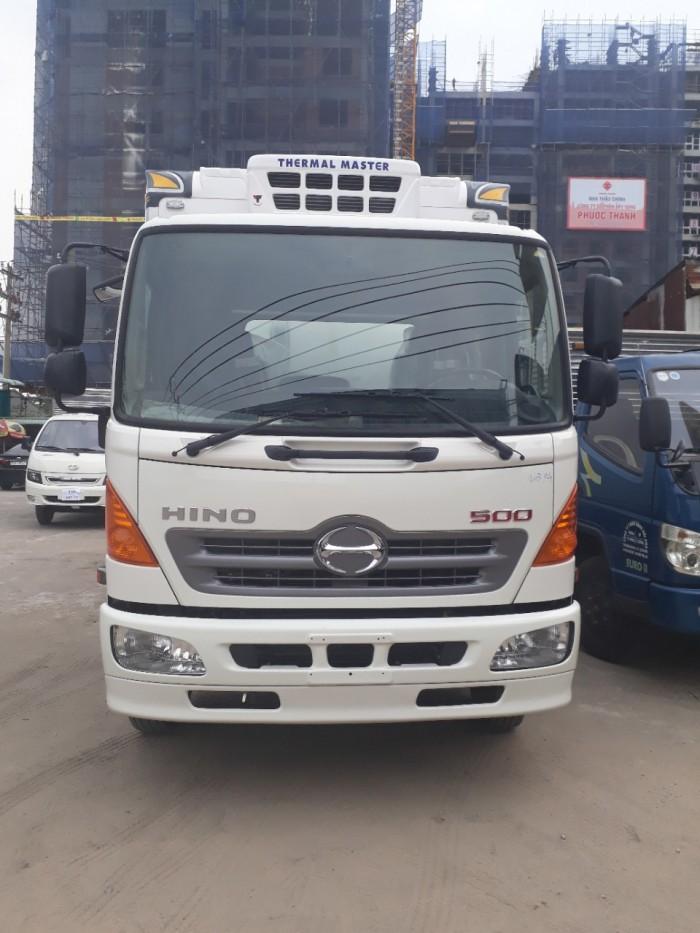 Xe tải Hino 6T2 thùng mui bạt