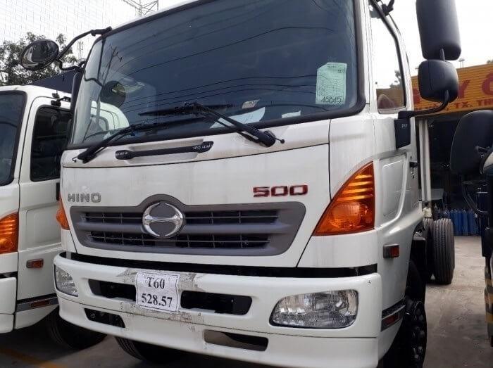 Bảng giá xe tải Hino 6.4 tấn tại TPHCM
