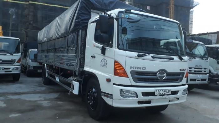 Ngoại thất xe tải Hino 8 tấn