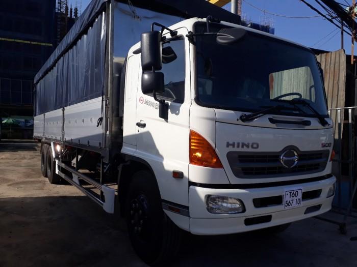 Giá xe tải Hino 16 tấn tại TPHCM bao nhiêu?