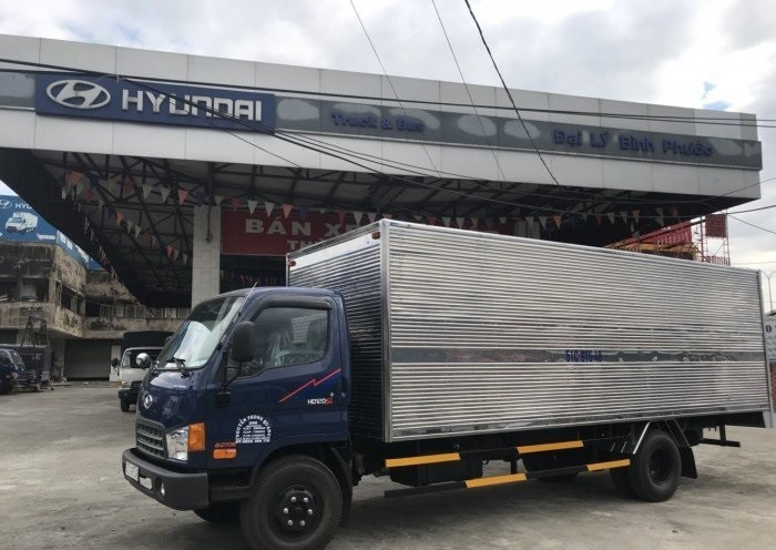 Giá xe HD120SL thùng kín tại TPHCM