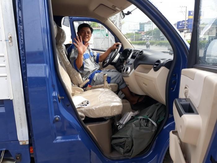 Trang bị động cơ xe tải Veam 990kg