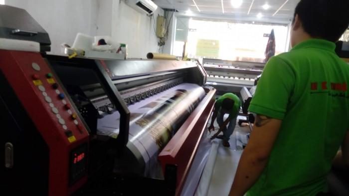 Máy in quảng cáo khổ lớn - in băng rôn dài nhanh tại TPHCM