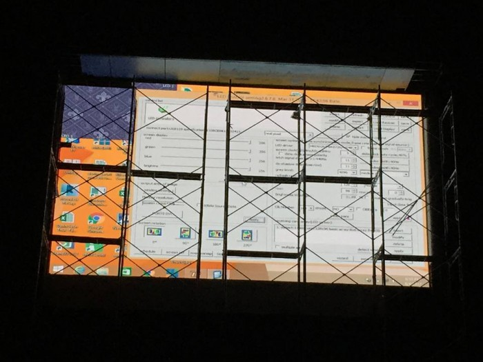 Thi công lắp đặt màn hình Led ngoài trời cỡ lớn