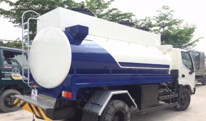 Có nên mua xe bồn chở xăng dầu Hino