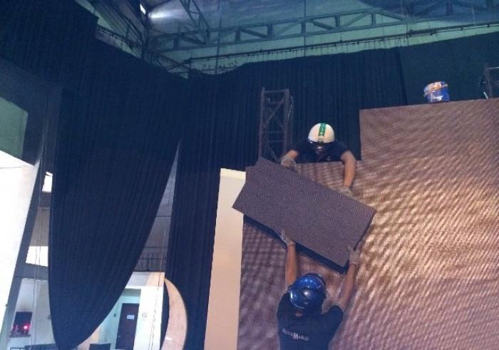 Thi công lắp đặt màn hình Led cỡ lớn trong nhà