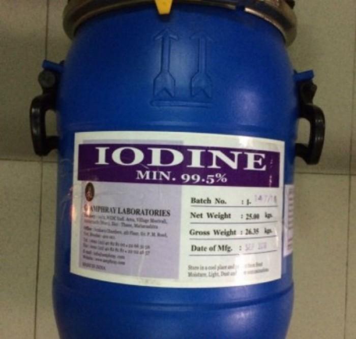 Mua bán iodine hạt 99.5% - Xem so sánh giá iodine hạt 99.5% từ nhiều nhà cung cấp uy tín trên MXH MuaBanNhanh