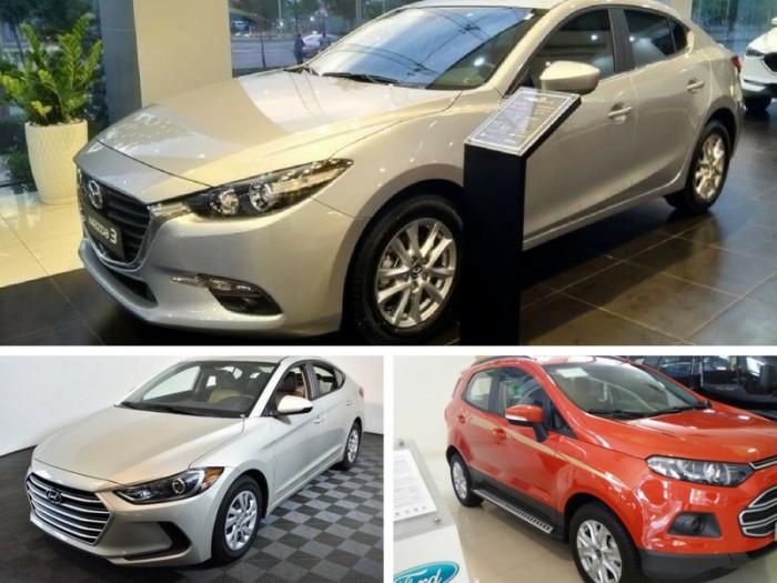 Tư vấn chọn mua xe ô tô: Hyundai Elantra , Ford Focus hay Mazda 3?