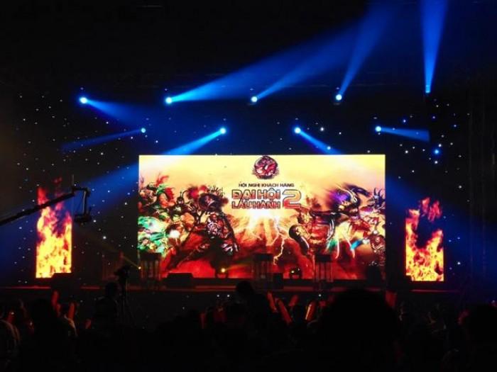 Cho thuê màn hình Led sân khấu sự kiện game online