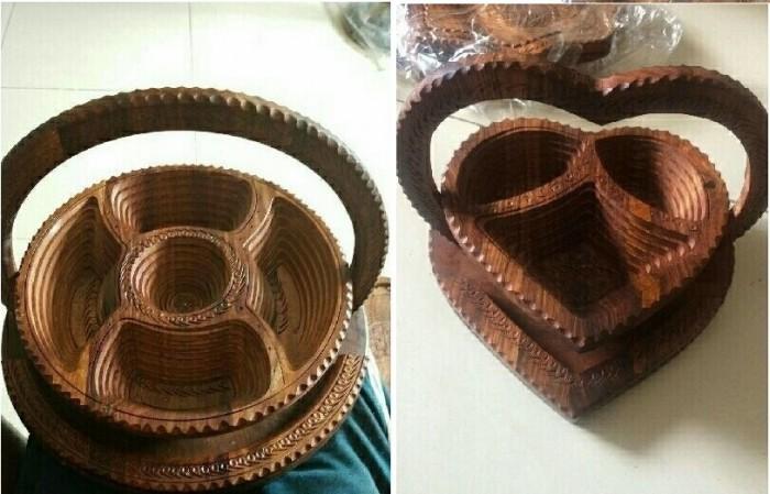 Mẫu khay gỗ mỹ nghệ đẹp