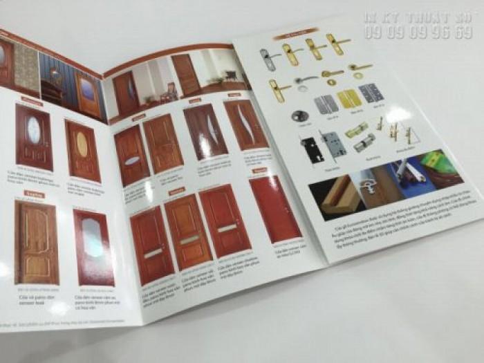 Nhận thiết kế và in ấn brochure chuyên nghiệp tại TPHCM