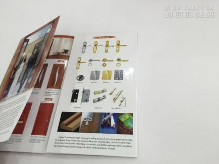In brochure gấp 4 - in brochure khổ A4 tại TPHCM