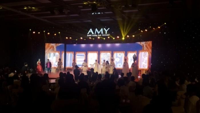 Cho thuê màn hình Led P4 outdoor sự kiện Amy tại khách sạn Nikko Saigon