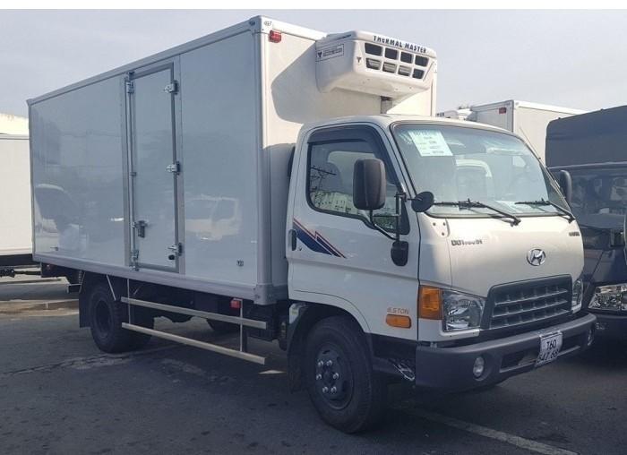 Bán xe tải Hyundai HD99 thùng đông lạnh. Mua trả góp nhanh 80% giá trị xe. Có xe giao ngay. Hổ trợ đăng ký, đăng kiểm biển số các tỉnh