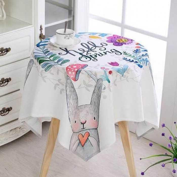 Tìm mua khăn trải bàn tròn đẹp, giá tốt trên MXH MuaBanNhanh