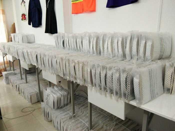 Lô hàng may áo sơ mi đồng phục công sở tại xưởng may chuyên nghiệp tại TPHCM
