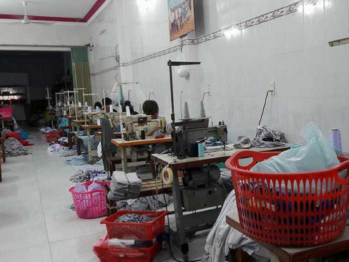 Xưởng may áo thun đồng phục số lượng ít