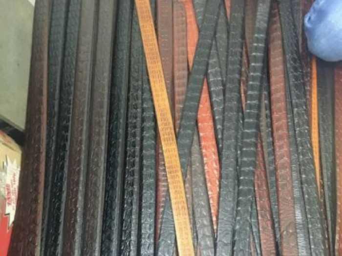 Sản phẩm dây nịt, thắt lưng sản xuất từ xưởng - bỏ sỉ dây nịt thắt lưng nam TPHCM