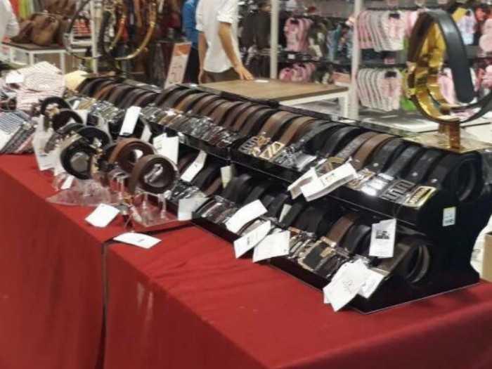 Các mẫu dây nịt, thắt lưng đẹp, chuẩn hàng xuất khẩu được bán tại các trung tâm thương mại lớn, sản xuất từ các cơ sở dây nịt TPHCM