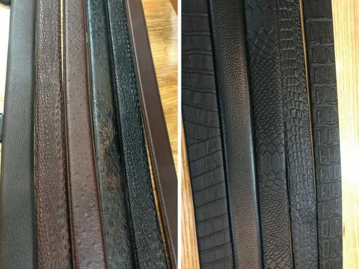 Thành phẩm dây nịt - sản phẩm từ Công ty sản xuất dây nịt TPHCM