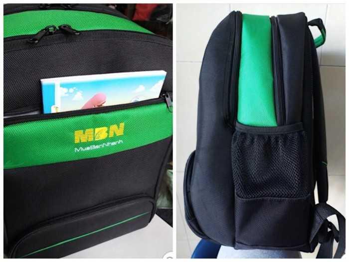 Sản xuất balo đồng phục công ty MuaBanNhanh