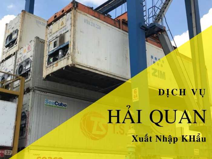 Báo giá dịch vụ hải quan xuất nhập khẩu - Cộng đồng công ty dịch vụ hải quan TPHCM