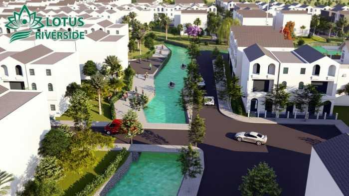 Thông tin dự án đất nền khu dân cư Lotus Riverside Cần Đước, Long An