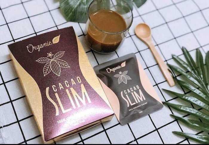 Review bột giảm cân Organic Cacao Slim